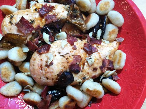 Melissa Clark's Figgy, Piggy Chicken