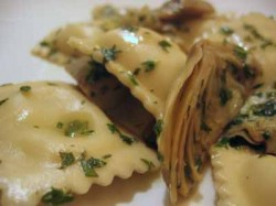 Read more about the article Sometimes You Just Don't Feel Like Cooking (Artichoke Ravioli with Herb Sauce)