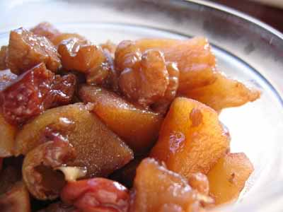 Perfect for a Cool Fall Morning: Baked Apple Compote