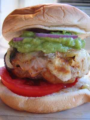 Chipotle Turkey Burgers