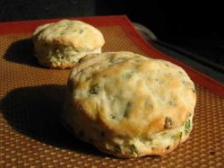 Baking for Breakfast: Low-Fat Chive & Pepper Biscuits