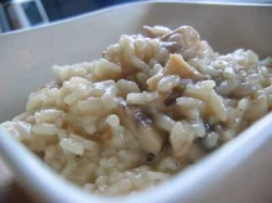 Mushroom Risotto, for Stephen