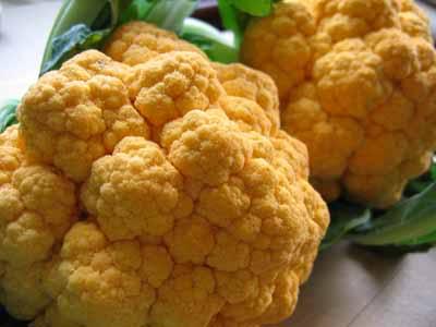 Orange Cauliflower?!