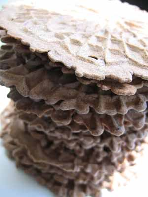 Chocolate Pizzelles