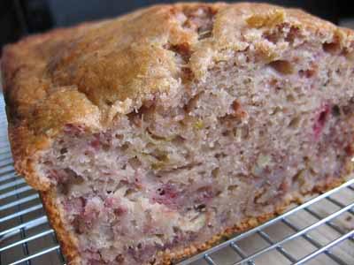 Strawberry-Rhubarb Bread