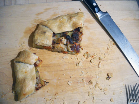 Roasted Root Vegetable Crostata (Playing with Leftovers)