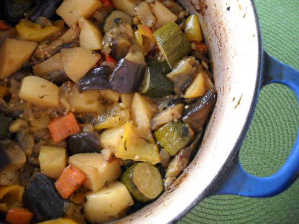 Greek Stewed Vegetables