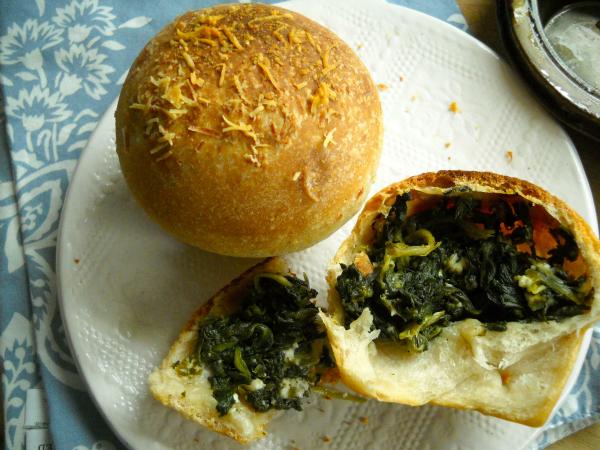 Muffin-Tin Spanakopitza