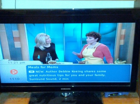 Debbie Koenig, author of Parents Need to Eat Too, on NY1