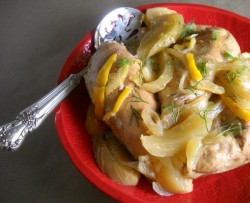 Super-Simple Seder Meal: Slow Cooker Chicken with Fennel & Lemon