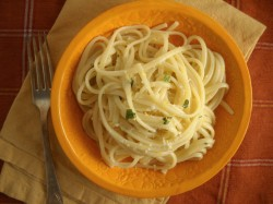 The World's Easiest Mother's Day Menu [Recipe: Linguine with Pecorino, Lemon, and Mint]