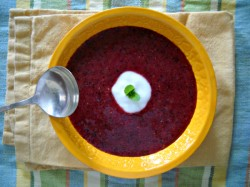 Don't Call It a Smoothie: Triple-Berry Fruit Soup