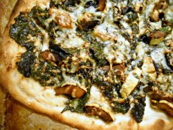 Catching Up, Plus a Recipe for Crispy Kale, Winter Squash, and Cheddar Pizza