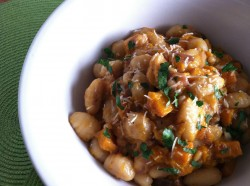 Gnocchi in Butternut Procrastination Sauce