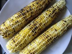 Charred Corn on the Cob