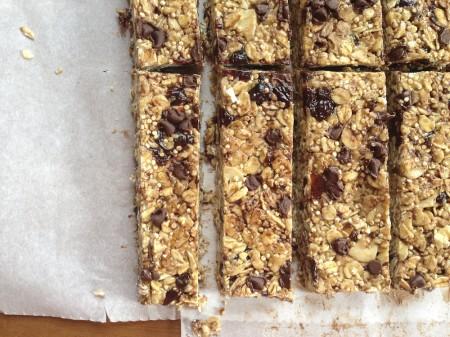 131007 chewy quinoa granola bars