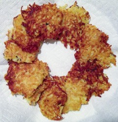 Latkes & Chicken Parm: Chrismukkah Feasting