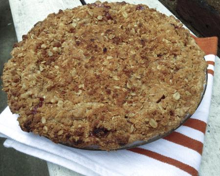 141127 cranberry apple crumb pie