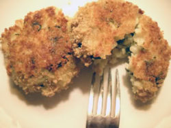 Crispy* Baked Risotto Cakes